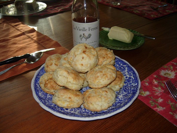 Homemade biscuits made the French Laundry way.